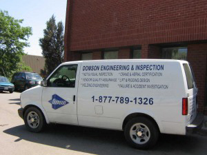 Domson Engineering & Inspection in Ontario Canada