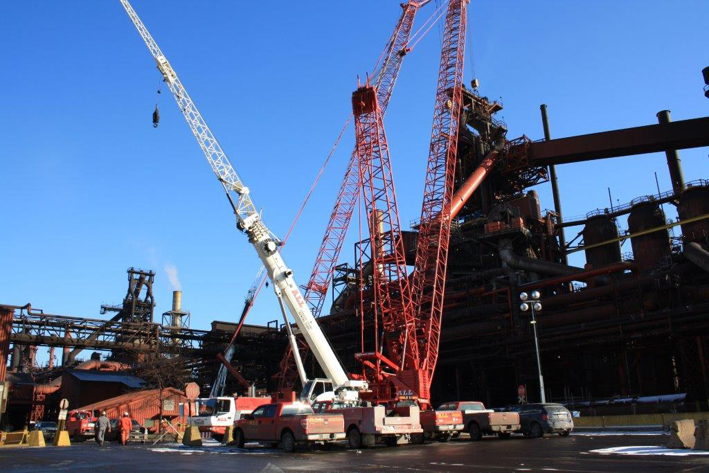 dofasco downcomer removal