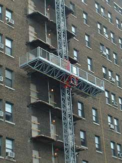 Mast Climber Work Platform Inspections Canada